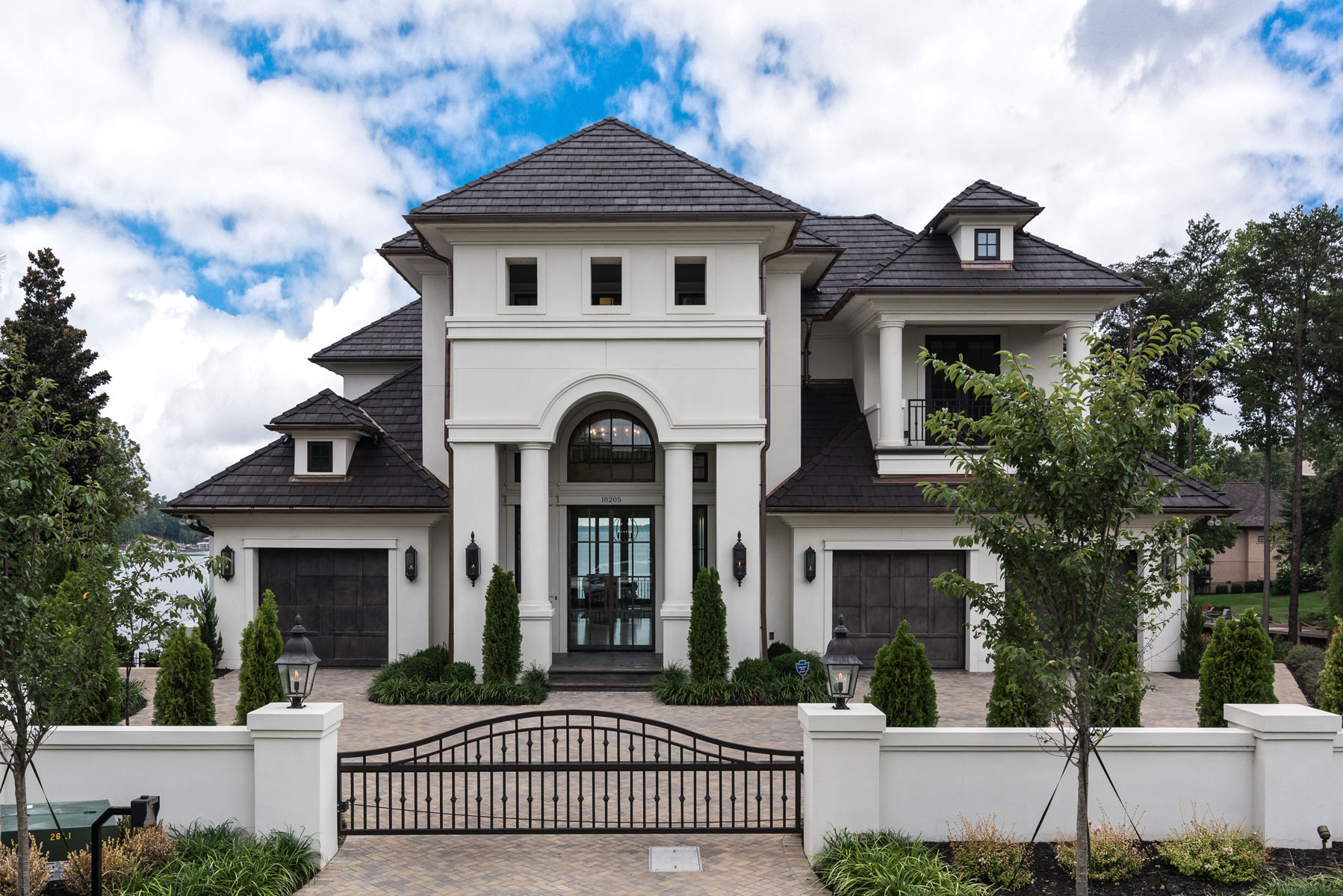 Contemporary Jewel Front Elevation