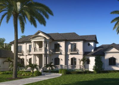 Classical French Estate Home