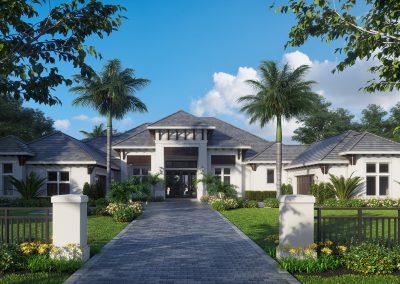 Coastal West Indies Estate Home