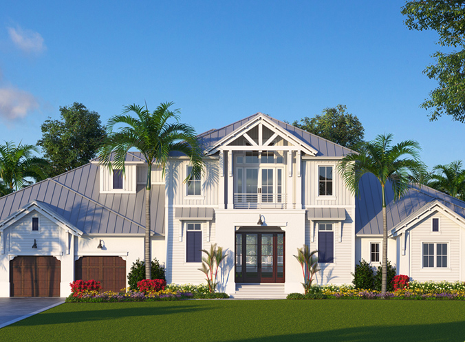 """""""Old Florida"""" Style Estate Home on Marco Island"""