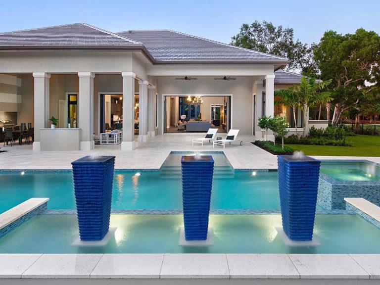 JMDG Architecture Naples – Pine Ridge Estates Home